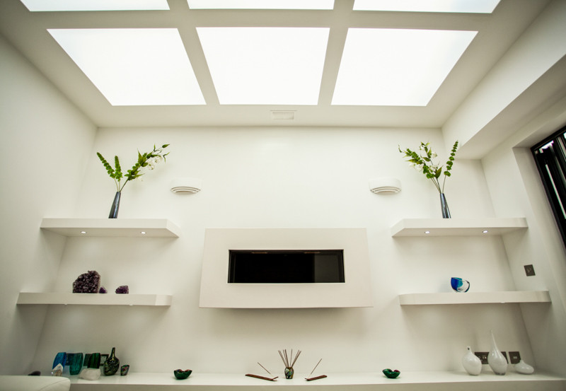 Ceiling, shelves and lights.jpg