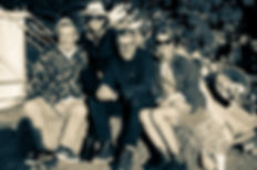 Steve Abbot, Cerys Matthews, Charlie Gladstone and Caroline Gladstone
