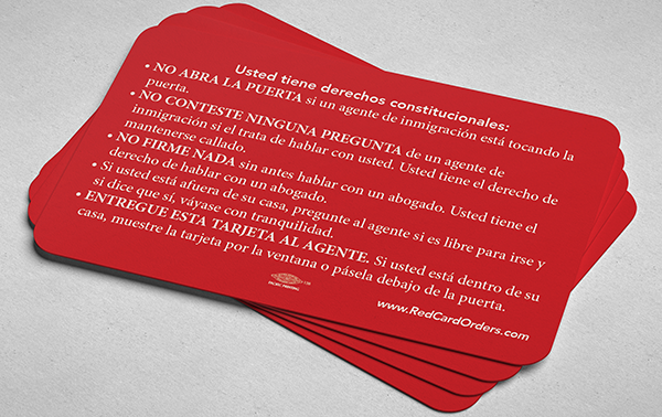 Red Cards for Immigrants