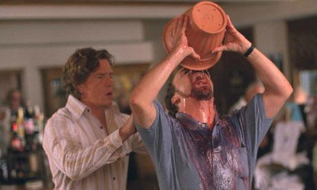 Paul Giammatti Drinking from the Spit Bucket - Sideways