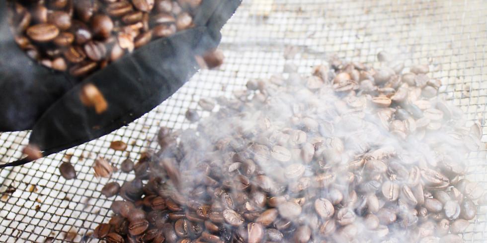 コーヒー豆焙煎体験会「明日の朝は煎りたてのコーヒー豆で」