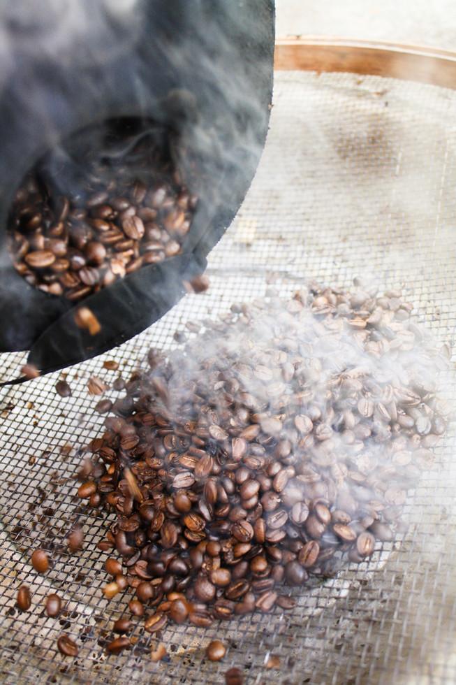 Rosting Coffee