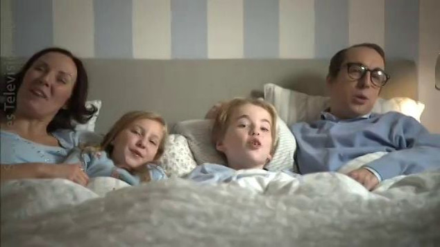 SVT - MELODIFESTIVALEN - REALLY ORDINARY FAMILY
