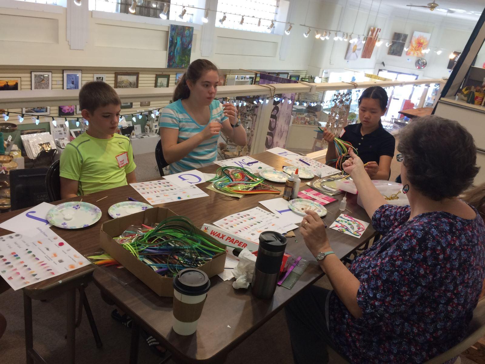 Kids' summer art classes