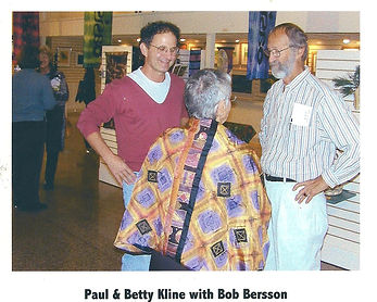 Paul and Betty Kline with Bob Bersson.jp