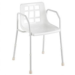 Standard Steel Shower Chair SWL 125kg