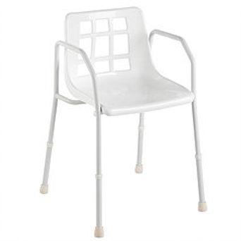 Standard Steel Shower Chair SWL 125kg