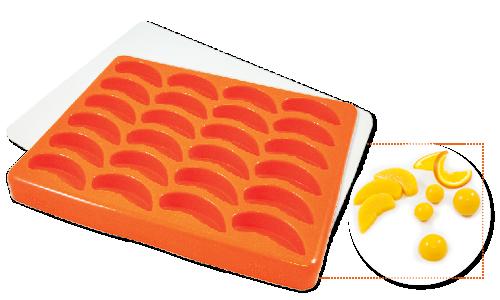 Shape It Moulds Sliced Fruit