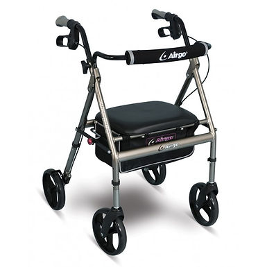 Titanium Airgo® Adventure-Eight Rollator SWL 136kg