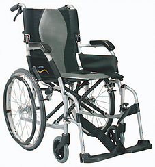 Karma Ergo Lite Deluxe Self Propelled Folding Wheelchair SWL 100kg