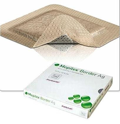 Mepilex Border Ag 10 x 10cm Box of 5