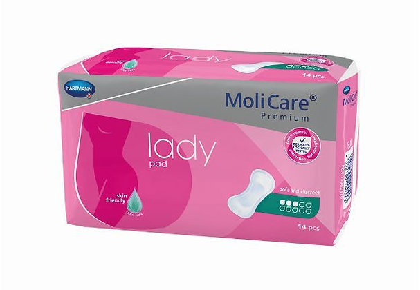 Molicare Premium Lady Pads 3 Drops 504ml