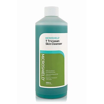 Microshield T (Blue) Triclosan Skin Cleanser - 500ml each