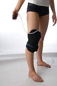 Cold Compression Therapy, Knee with Removable Gel Pack, 36 x 32cm