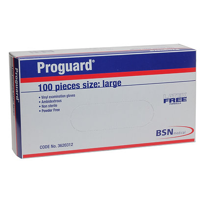 Proguard Vinyl Gloves Powder Free Large