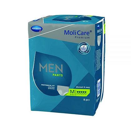Molicare Premium Men Pants Medium Waist 5 Drop  80-120cm 970ml