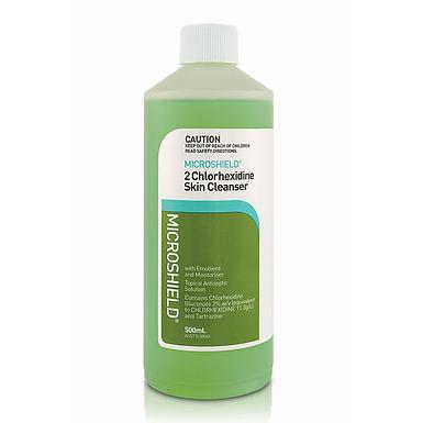 Microshield 2 Antiseptic Hand Wash - 500ml each