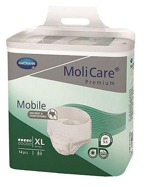Molicare Premium Mobile 5 Drops Extra Large Waist 130 170cm 1183ml