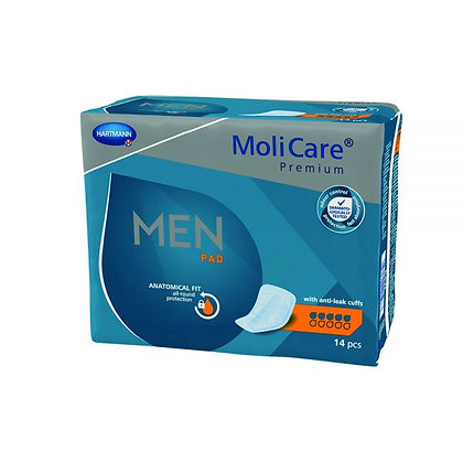 Molicare Premium Men Pads 5 Drops Men 852 Ml