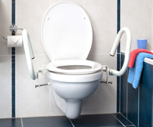 Toilet Safety Arms - Throne - 3 in 1 Splayed - Powdercoated | www ...