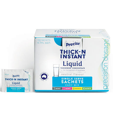 Precise Instant Thick Single Serve Sachets Easy Mix Sold as Single Units