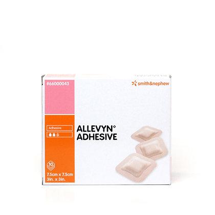 Allevyn Hydrocellular Dressings Adhesive 7.5 x 7.5cm Box of 10