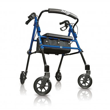 Hugo® Fit Rolling Walker - Pacific Blue SWL 113kg