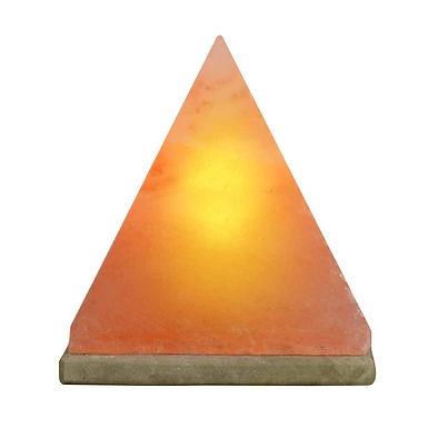 Pyramid Shaped Himalayan Salt Lamp - Small