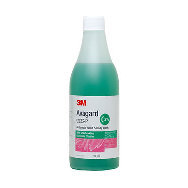 Avagard Antiseptic Hand & Body Wash 2% Chlorhexidine 500ml