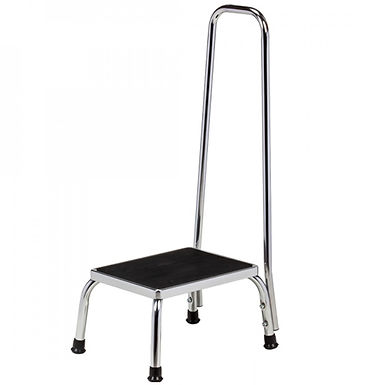 Step Stool with Hand Rail SWL 160kg