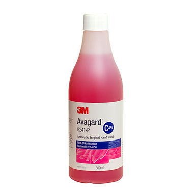 Avagard Surgical Hand Scrub Chlorhexidine Gluconate 4% 500ml