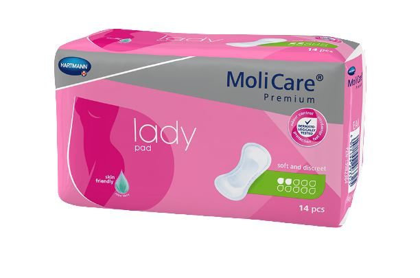 Molicare Premium Lady Pads 2 Drops 331ml
