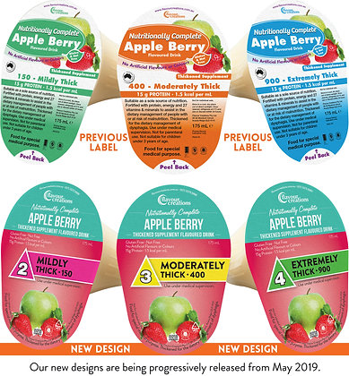 Thickened Supplements Apple Berry