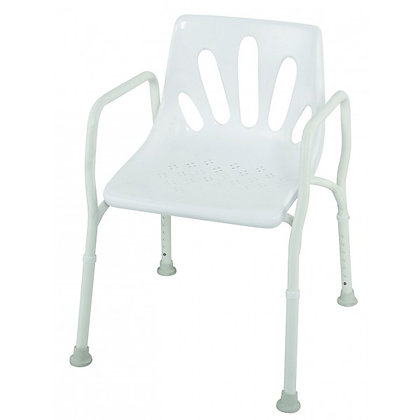 Shower Chair Aluminium H Series HBA402 SWL140kg