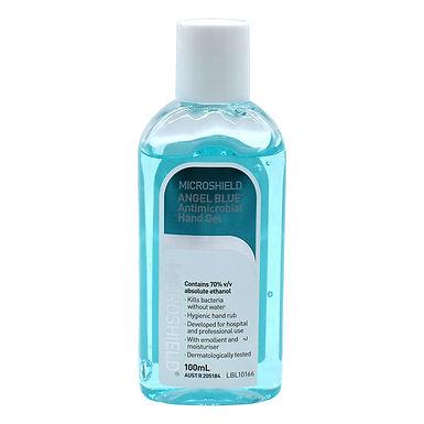 Microshield Antimicrobial Angel Blue Hand Gel 100ml Each