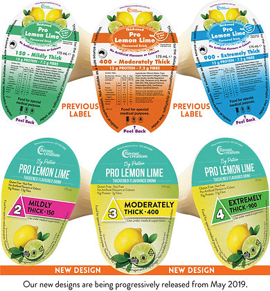 Protein Fortified Lemon Lime