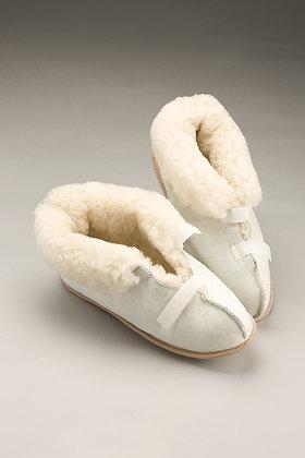 Sheepskin Slippers Closed Toe