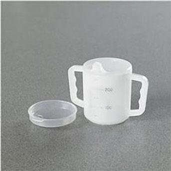 HomeCraft Two Handled Mug & Lids