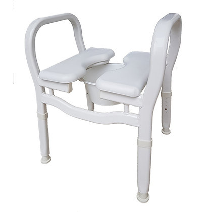 Split Seat Chair (Over Toilet Aid - Shower Chair - Commode) SWL 160kg