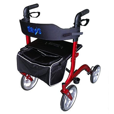Deluxe Rollator Red / Blue SWL 136kg