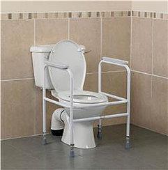 Toilet Surround, Height Adjustable SWL160kg