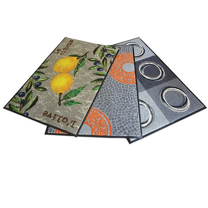 Non-slip Indoor Mat 600x1800mm in Decorative Design