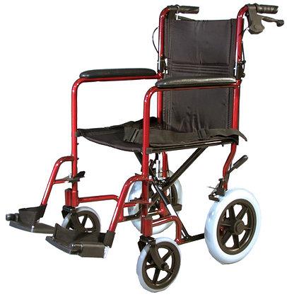 Auscare Shopper 12 Wheelchair, Transit Attendant Propelled