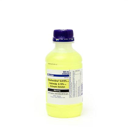 Chlorhexidine .015% Cetrimide 0.15% 500ml Each