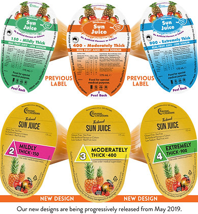 Flavour Creations Real Fruit Juices Sun