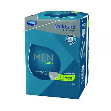 Molicare Premium Men Pants 5 Drop Large Waist 100 150 Cm 970ml