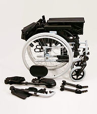 Breezy BasiX Transit Wheelchair Nova Med