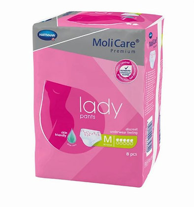 Molicare Premium Lady Pants Medium Waist 80 120cm 850ml