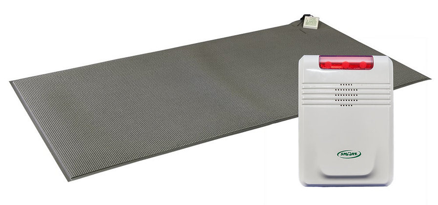 "Cordless Floor Mat 24x36"" with 433EC Cordless Fall Monitor"