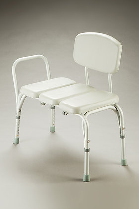 Transfer Bench - Padded Seat and Back SWL 130kg